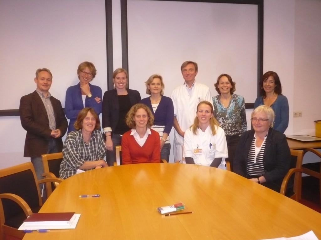 Het behandelteam van hersentumoren UMCG