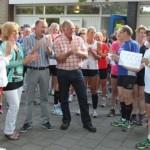 Runnersclub Stadskanaal doneer € 555,55